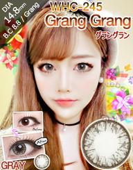 Geo Medical brand WHC245 Grey circle lenses in bright flash effect