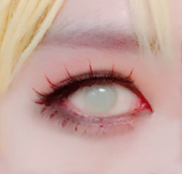 22mm sclera lenses for a zombie look