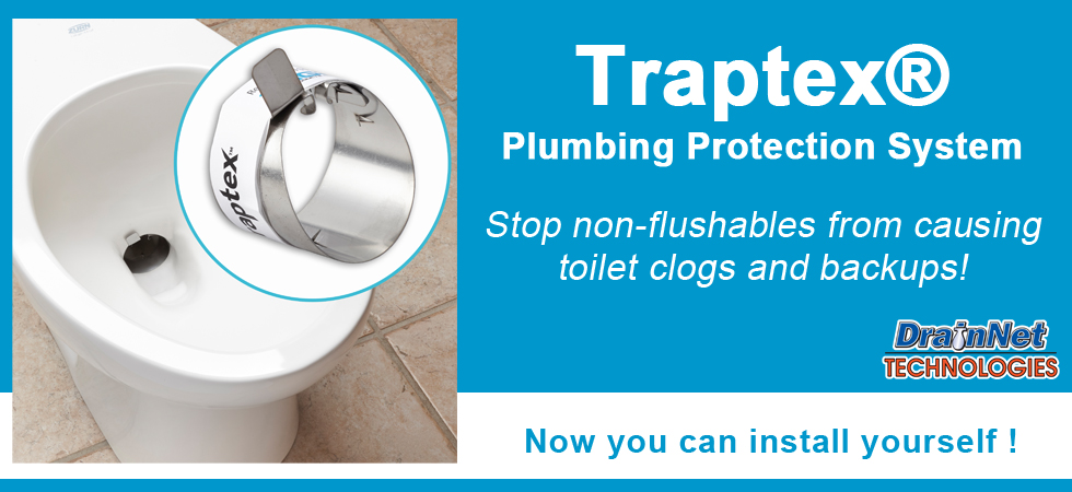 Traptex - prevent toilet clogs in your facility