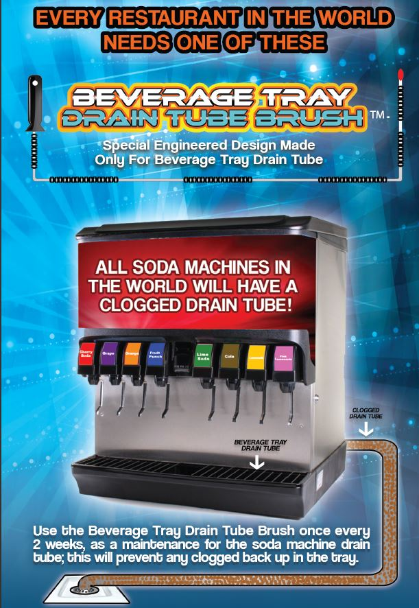 how to clean a soda fountain line