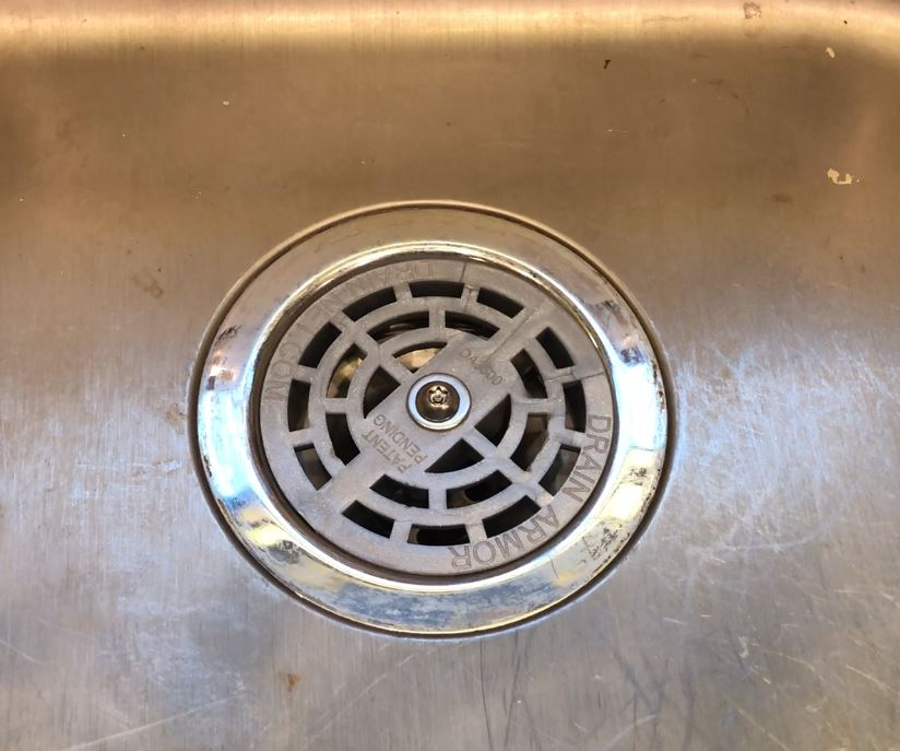 Drain Armor in Sink