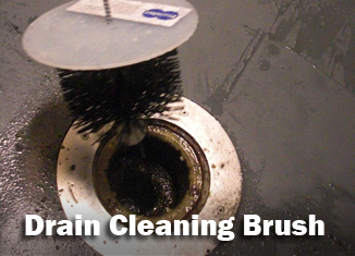 Drain Cleaning Brush