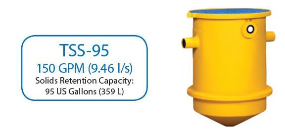 150 GPM Trapzilla Solids Separator