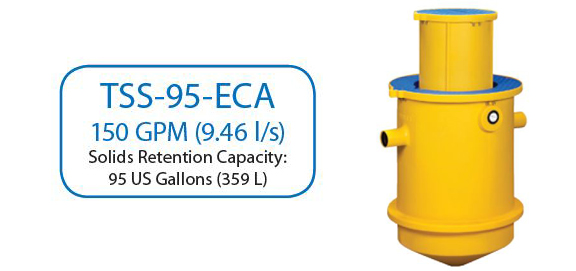 TSS-95-ECA In Ground Trapzilla Solids Separator