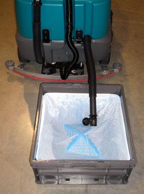 mop basin drain filter