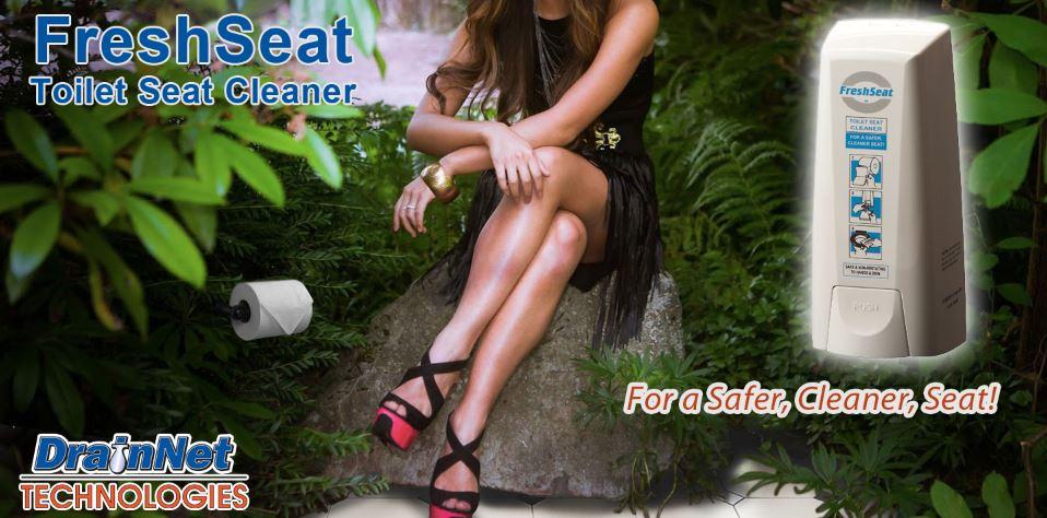 FreshSeat - Toilet Seat Cleaner