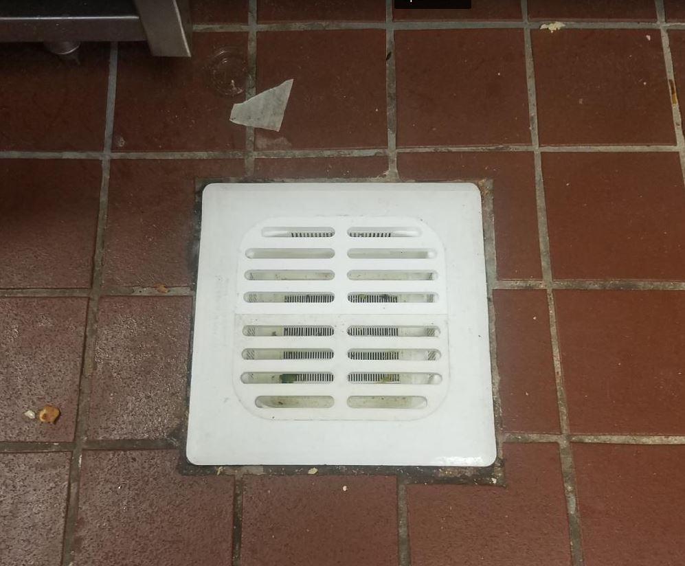 Floor Sink Basket with Full Grate