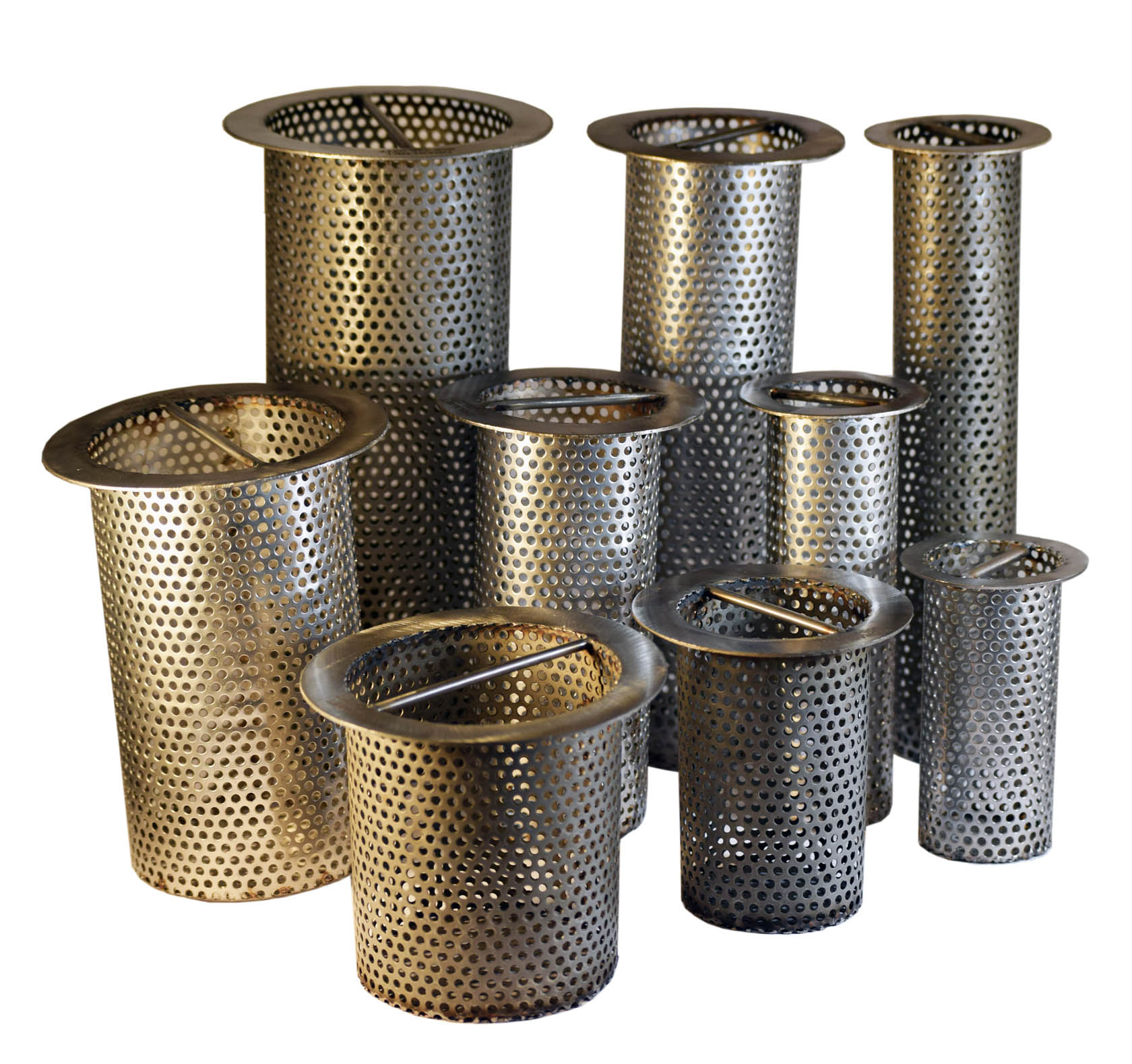 Perforated Stainless Steel floor drain strainers