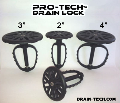 Pro-Tech Drain Locks for Restaurants and Commercial Kitchens