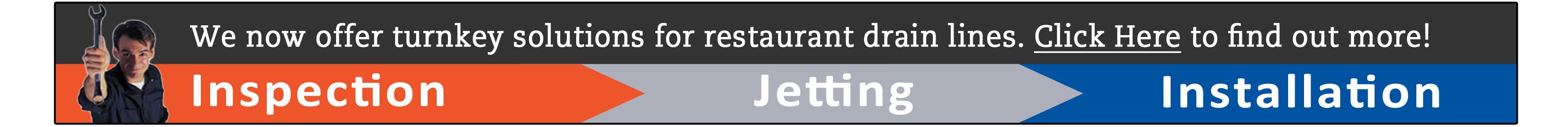 drain line service for restaurants