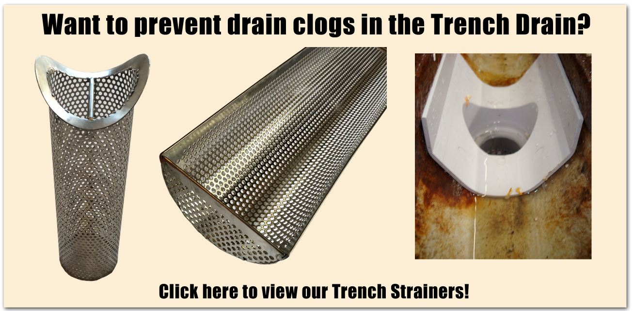 Trench Drain Grate Replacement