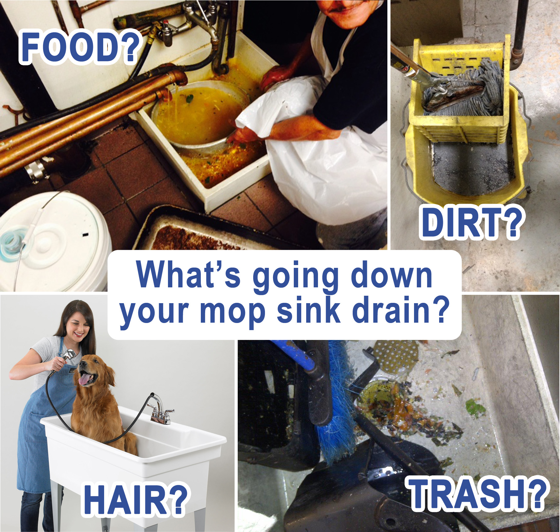 How To Deal With A Clogged Mop Basin Drain Net Technologies