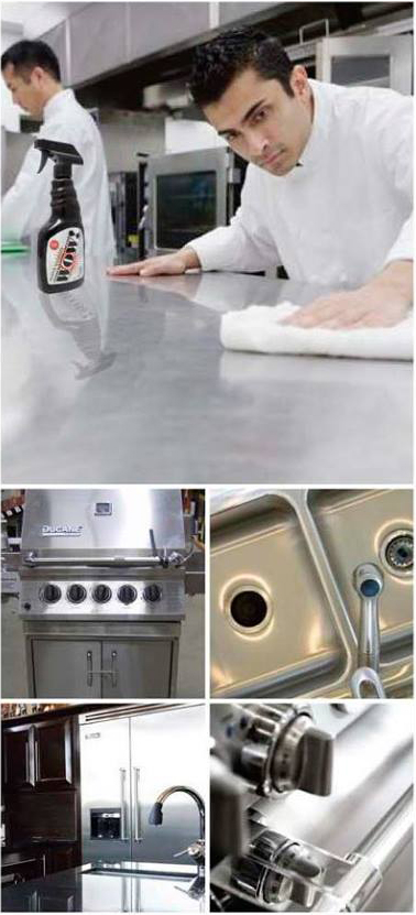 wow commercial kitchen metal cleaner