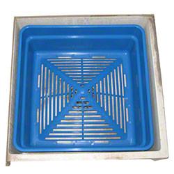Commercial Mop Sink Basin Strainer W Filters Drain Net