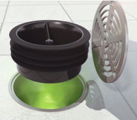 Green Drain Super Seal 4""
