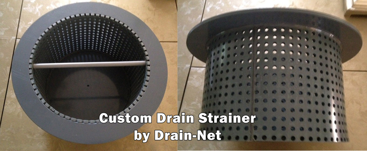 Custom Drain Strainers For Restaurants Amp Commercial Kitchens