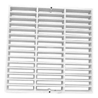"Full Grate - FLOOR SINK GRATE - 12"" X 12"""