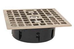 Floor Drain Lock Square Zurn Style Drain Net Technologies
