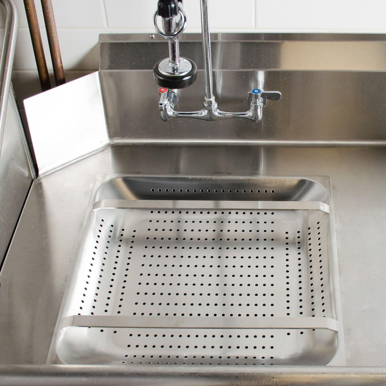 20 Quot Commercial Sink Pre Rinse Basket 2 25 Quot Deep Drain