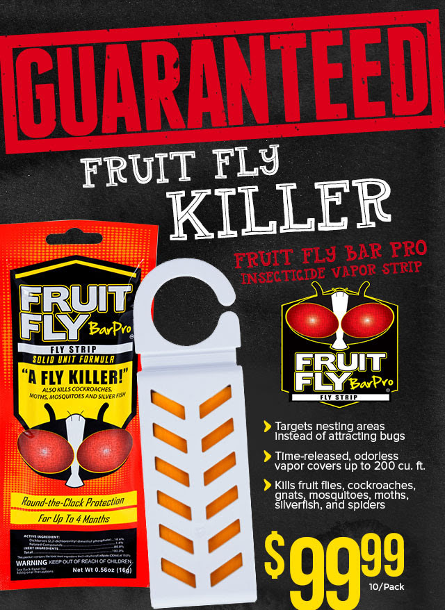 Fruit Fly Bar Pro Insecticide Vapor Strip For Restaurants