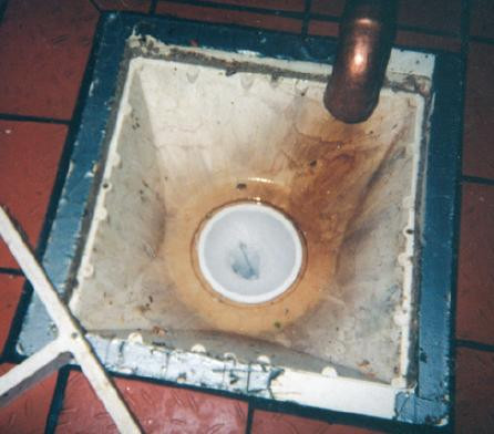 Solid Drain Sock White 4 Quot Drain Net Technologies