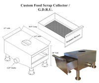 Customized Food Scrap Collector