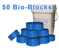 50 Bio-Blocks (Urinal Cakes)