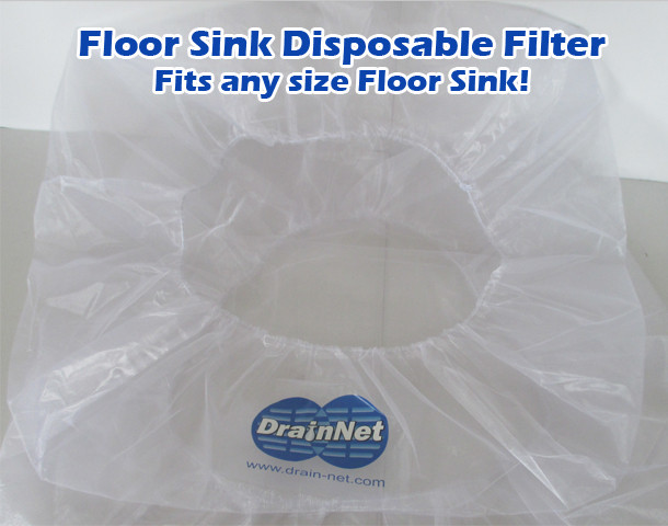 Floor Sink Disposable Filter Drain Net Technologies