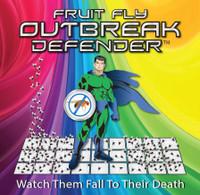 Outbreak Defender (Food-Safe Fruit Fly Control) 4-pack