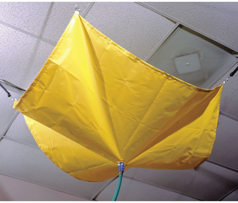 Roof Drip Diverter 5 X 5 Catch Roof Leaks Drain Net