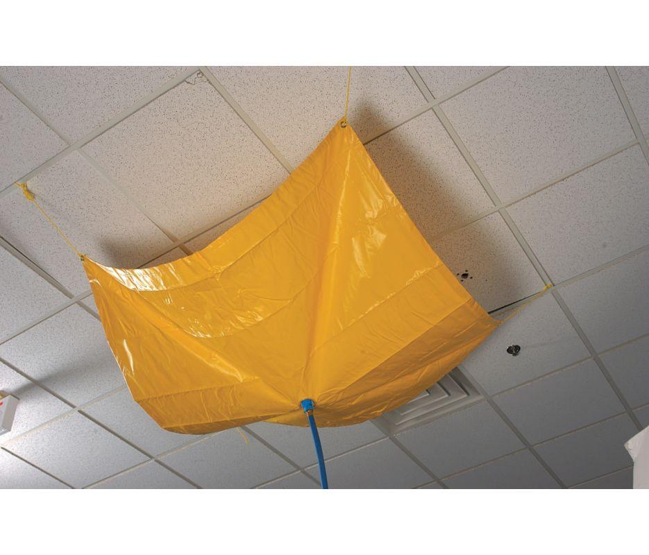 Roof Drip Diverter 7 X 7 Catch Roof Leaks Drain Net
