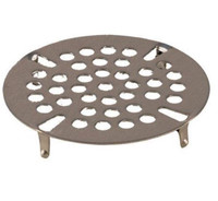 "3 1/2"" Flat Strainer for Kitchen Sink Drain Opening"