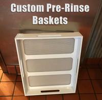 Custom Pre-Rinse Sink Strainers