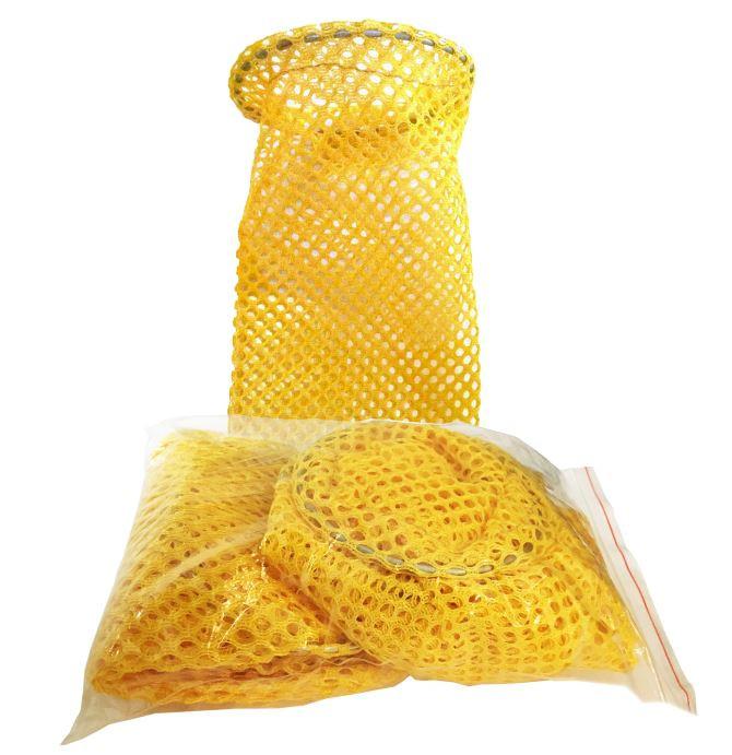 Yellow Disposable Drain Sock 20 Pack Drain Net