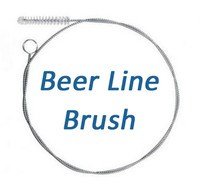 "Beer Line Cleaning Brush 1/4"" wide x 66"" long"