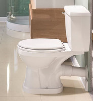 Round or Elongated Rear Discharge Toilets