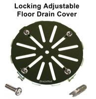Locking Adjustable Floor Drain Cover