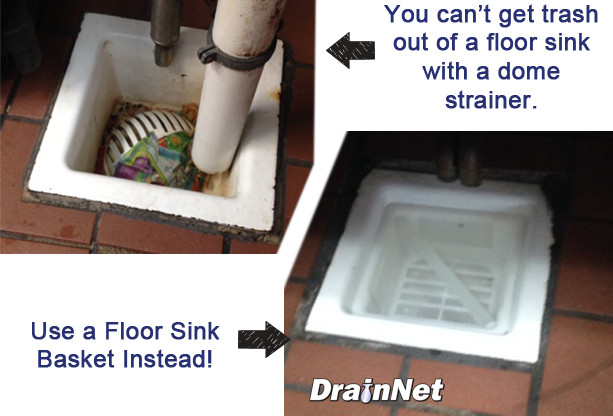 Floor Sink Basket 6 5 Quot Drain Net Technologies