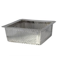 "8.5"" Stainless Steel Perforated Drain Bucket"