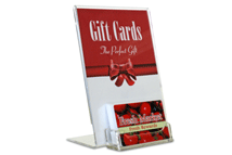 Acrylic Gift Card Display
