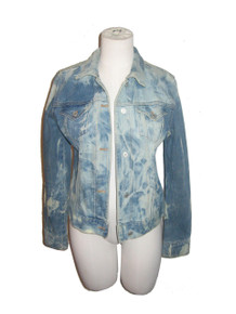 Vintage Designer's Touch Gap Acid Wash Denim Jeans Jacket