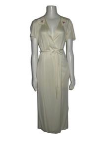 Vintage Multi-functional Belted Wrap Disco Dress