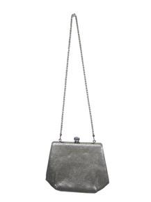 Vintage Metallic Silver Lame Rope Strap Cute Clasp Handbag