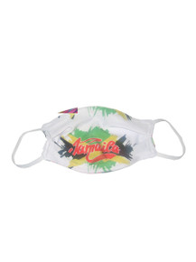 "POYZA ""Jamaica We Love"" Fashion Unisex Nose Mouth Face Covered Mask"