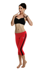 Mazzaa 3/4 Pants - Red