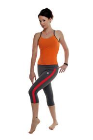 Mazzaa 3/4 Pants - Charcoal