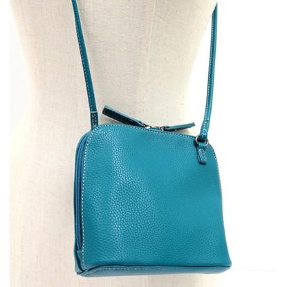 Petrol Blue Audery X body Bag