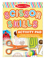 Scissor Skills Activity Pad -  Melissa & Doug
