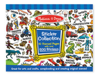 Sticker Collection - Blue - Melissa & Doug