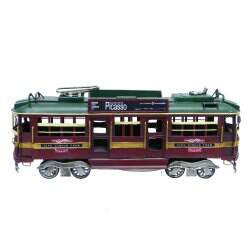 City Circle W class Tram 34 cm in length side on view